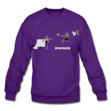 Load image into Gallery viewer, Amari Unisex Crewneck Sweatshirt - purple
