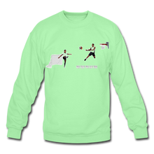 Load image into Gallery viewer, Amari Unisex Crewneck Sweatshirt - lime