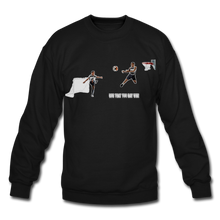 Load image into Gallery viewer, Amari Unisex Crewneck Sweatshirt - black