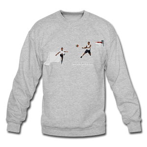 Amari Unisex Crewneck Sweatshirt - heather gray