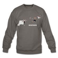 Load image into Gallery viewer, Amari Unisex Crewneck Sweatshirt - asphalt gray