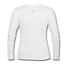 Load image into Gallery viewer, NO FEAR Women's Long Sleeve Jersey T-Shirt - white