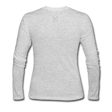 Load image into Gallery viewer, Proverbs 31 Loc Lady Women's Long Sleeve Jersey T-Shirt - gray