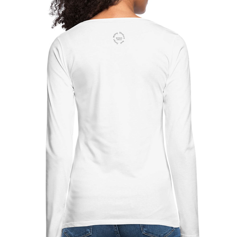 Proverbs 31 Loc Lady Women's Premium Long Sleeve T-Shirt - white