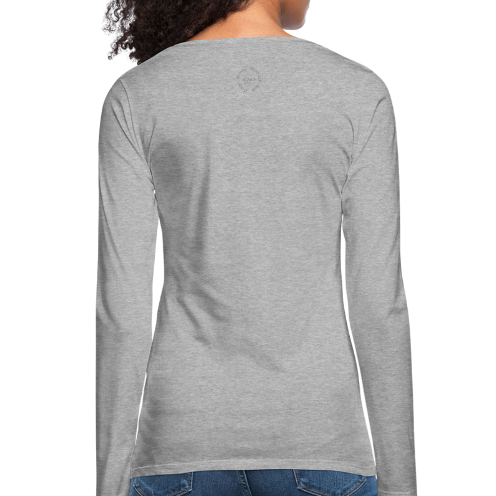 Proverbs 31 Loc Lady Women's Premium Long Sleeve T-Shirt - heather gray