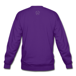 Proverbs 31 Loc Lady Unisex Crewneck Sweatshirt - purple