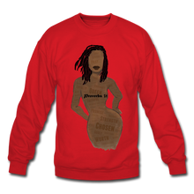 Load image into Gallery viewer, Proverbs 31 Loc Lady Unisex Crewneck Sweatshirt - red