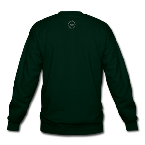 Proverbs 31 Loc Lady Unisex Crewneck Sweatshirt - forest green