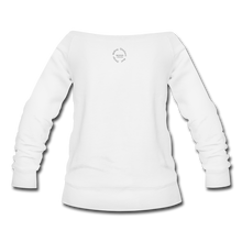 Load image into Gallery viewer, Proverbs 31 Locs Wideneck Sweatshirt - white