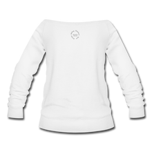 Load image into Gallery viewer, Proverbs 31 Loc Lady Wideneck Sweatshirt - white