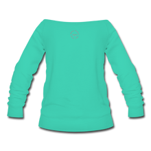 Load image into Gallery viewer, Proverbs 31 Loc Lady Wideneck Sweatshirt - teal