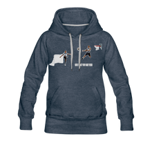 Load image into Gallery viewer, Amari Premium Hoodie - heather denim