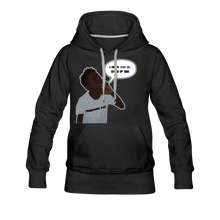 Load image into Gallery viewer, Kingston Women's Premium Hoodie - black