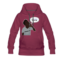 Load image into Gallery viewer, Kingston Women's Premium Hoodie - burgundy