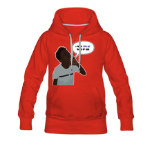 Load image into Gallery viewer, Kingston Women's Premium Hoodie - red
