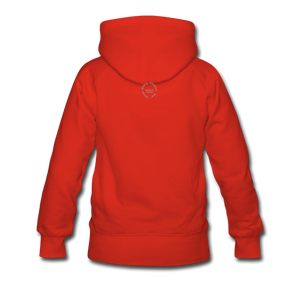 Kingston Women's Premium Hoodie - red