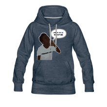 Load image into Gallery viewer, Kingston Women's Premium Hoodie - heather denim