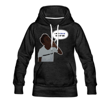 Load image into Gallery viewer, Kingston Women's Premium Hoodie - charcoal gray