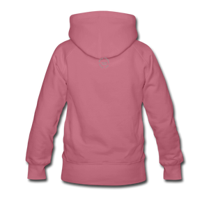Kingston Women's Premium Hoodie - mauve