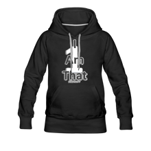 Load image into Gallery viewer, That One Women's Premium Hoodie - black