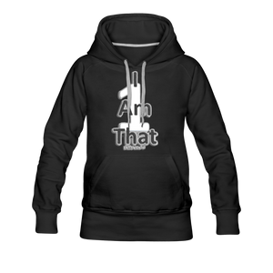 That One Women's Premium Hoodie - black
