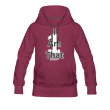 Load image into Gallery viewer, That One Women's Premium Hoodie - burgundy