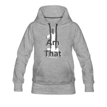 Load image into Gallery viewer, That One Women's Premium Hoodie - heather gray
