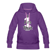 Load image into Gallery viewer, That One Women's Premium Hoodie - purple