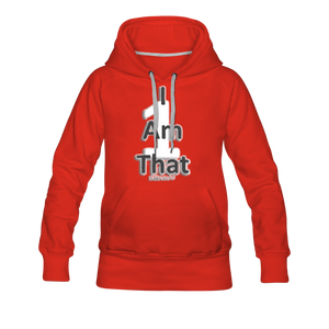 That One Women's Premium Hoodie - red