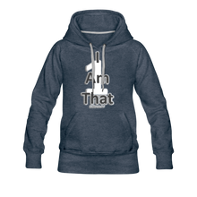 Load image into Gallery viewer, That One Women's Premium Hoodie - heather denim