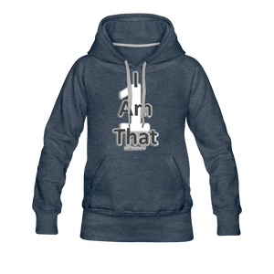 That One Women's Premium Hoodie - heather denim