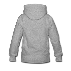 NO FEAR Women's Premium Hoodie - heather gray