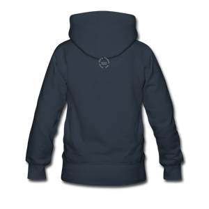 NO FEAR Women's Premium Hoodie - navy