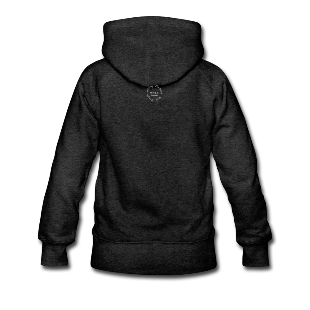 NO FEAR Women's Premium Hoodie - charcoal gray