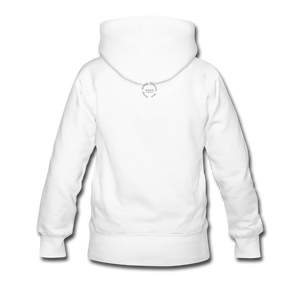 Black Goodness Women's Premium Hoodie - white