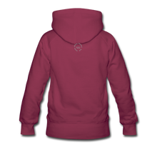 Load image into Gallery viewer, Black Goodness Women's Premium Hoodie - burgundy