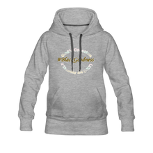 Load image into Gallery viewer, Black Goodness Women's Premium Hoodie - heather gray