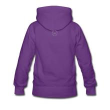 Load image into Gallery viewer, Black Goodness Women's Premium Hoodie - purple