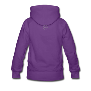 Black Goodness Women's Premium Hoodie - purple