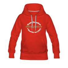 Load image into Gallery viewer, Black Goodness Women's Premium Hoodie - red