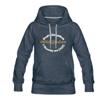Load image into Gallery viewer, Black Goodness Women's Premium Hoodie - heather denim