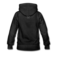 Load image into Gallery viewer, Black Goodness Women's Premium Hoodie - charcoal gray