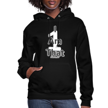 Load image into Gallery viewer, That One Women's Jerzee Hoodie - black