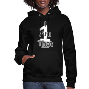 That One Women's Jerzee Hoodie - black