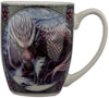 Alliance Wolf and Dragon Mug by Lisa Parker | Force of Life Spiritual & Holistic Shop | Forceoflife.co.uk
