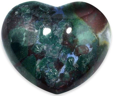 Bloodstone Heart | Force of Life Spiritual & Holistic Shop | Forceoflife.co.uk