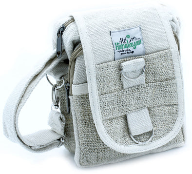 Body-Cross Natural Hemp & Cotton Travel Bag | Force of Life Spiritual & Holistic Shop | Forceoflife.co.uk