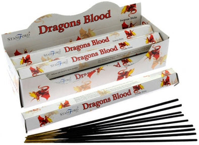 Dragons Blood - Stamford Incense Sticks | Force of Life Spiritual & Holistic Shop | Forceoflife.co.uk