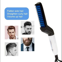 Load image into Gallery viewer, Hair and Beard Straightener