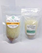 Load image into Gallery viewer, Detox Sea Therapy Bath Salts - Ginger & Orange